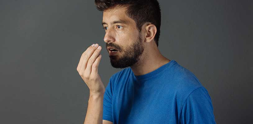 Bad breath could be a sign of health issues